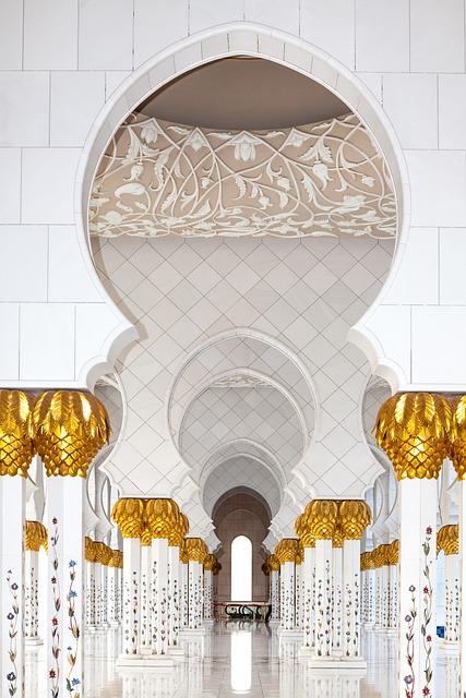 Abu Dhabi, Moshe, Islam, Building, Architecture, Arabic