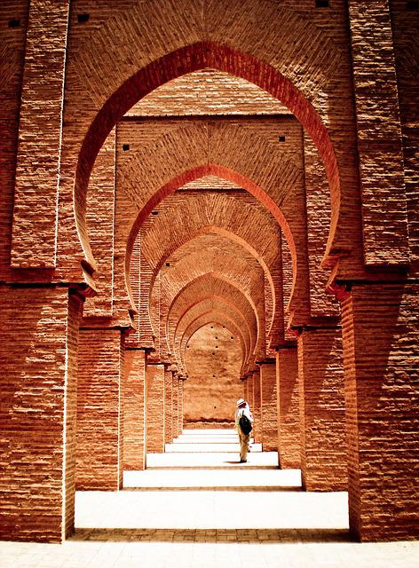Mosque, Tinmel, Atlas, Morocco, Architecture, Arabic