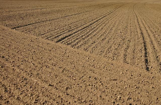 Arable, Ackerfurchen, Furrow, Agriculture, Earth