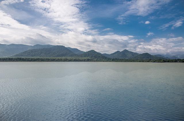 India, Andhra Pradesh, Araku, Araku Valley, Sky, River