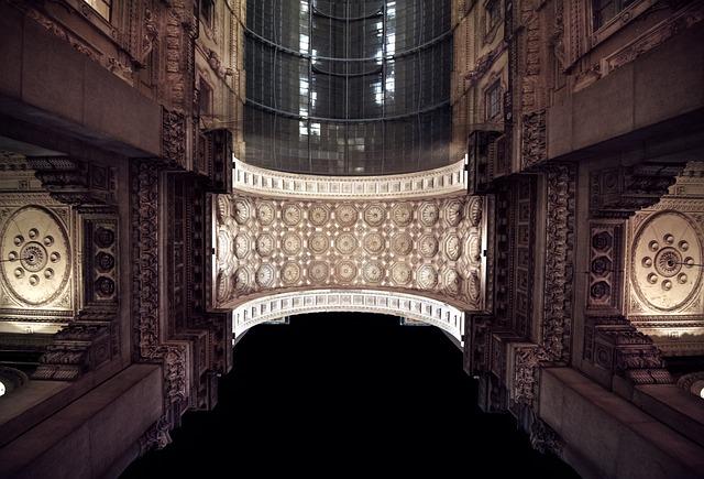Arc, Gallery, Vittorio Emanuelle, Milan
