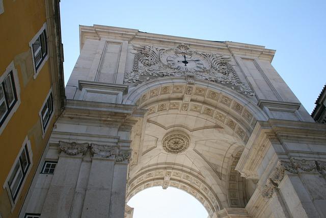 Arc Street Augusta, Low, Lisbon, Portugal