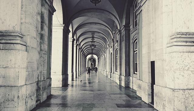 Arcades, Arcade, Architecture, City, Historic Center