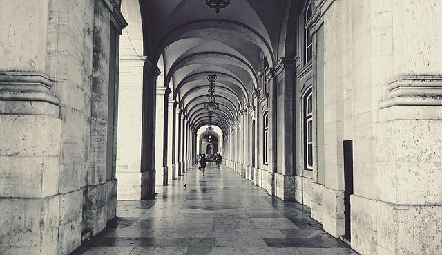 Arcades, Arcade, Architecture, City, Historic Center