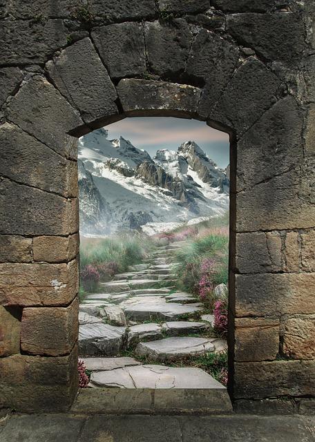 Fantasy, Gate, Arch, Portal, Magic, Art, Architecture