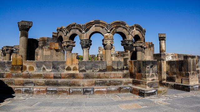 Cathedral, Column, Arch, Ruin, Historic, Architecture
