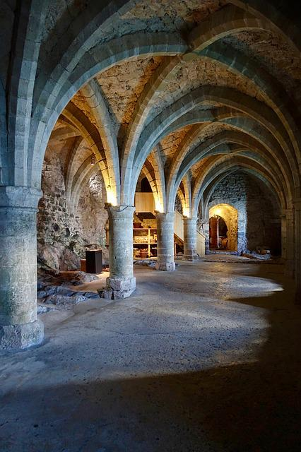 Arch, Medieval, Cloister, Architecture, Column