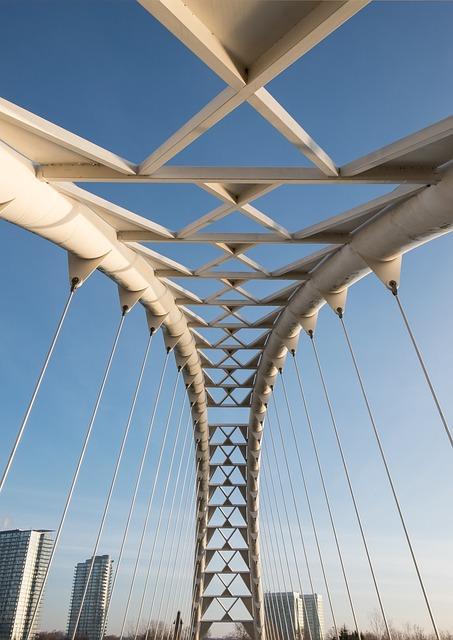 Bridge, Toronto, Downtown, Urban, Architecture, Arch