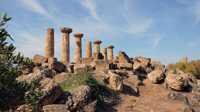 Sicily, Archaeological Site, Valley Of The Temples