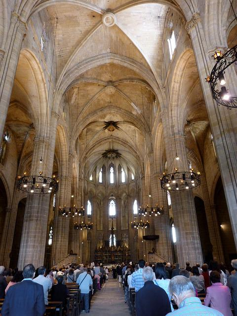 Cathedral, Gothic, Tortosa, Arches, Gothic Art