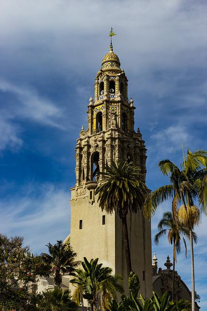 Bell Tower, Balboa Park, Architectural