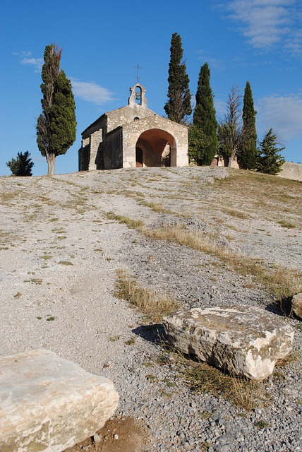 Chapel, Alpilles, Romanesque, Architecture