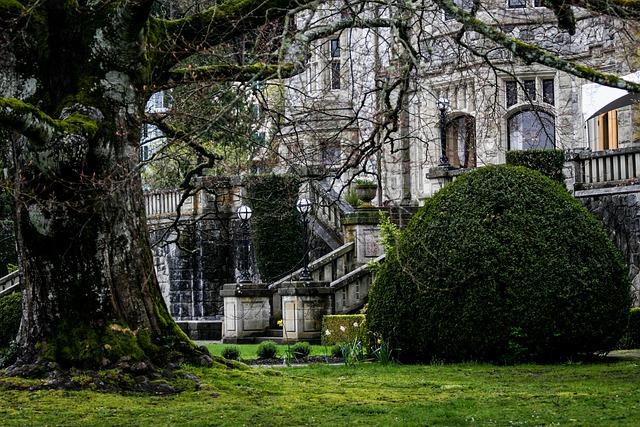 Victorian Home, Castle, Ancient, Architecture, Mansion