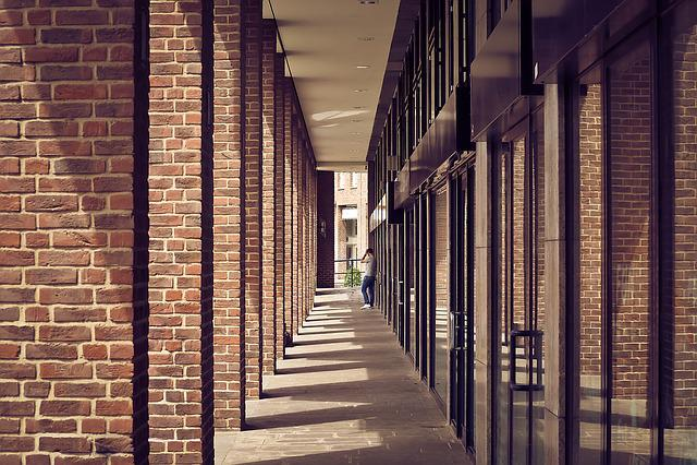 Architecture, Columnar, Building, Arcade, Pillar