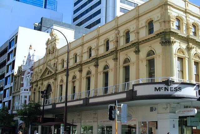 Barrack Street, Perth, Architecture, Australia