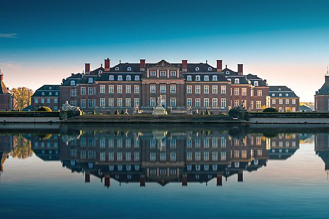 Architecture, Barockschloss, Castle Park