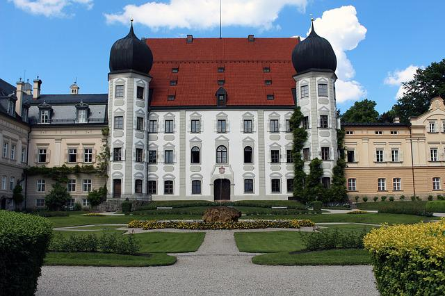 Castle, Baroque, Architecture