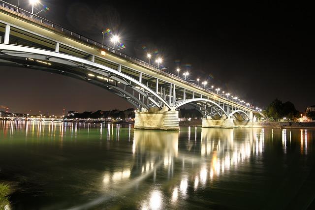 Rhine, Bridge, Basel, Architecture