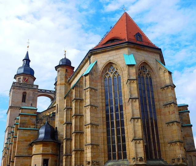 City Church, Bayreuth, Building, Steeple, Architecture
