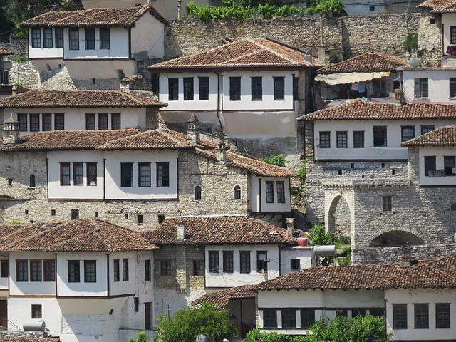 Albania, Berat, Architecture, City, Old, Heritage