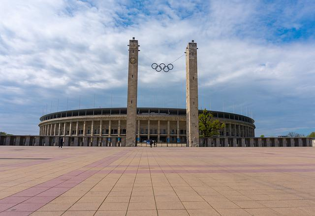 Architecture, Berlin Olympic Stadium, Fussballstadtion