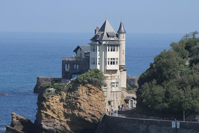 Biarritz, Architecture, Villa Belza, Basque Country