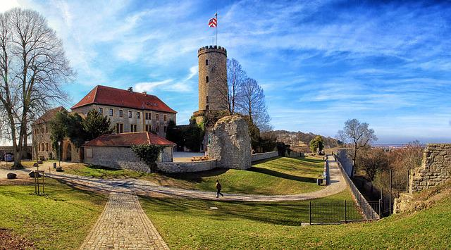 Sparrenburg, Bielefeld, Historically, Architecture