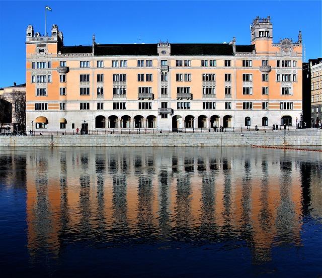 Architecture, Body Of Water, City, Palace, Art Nouveau