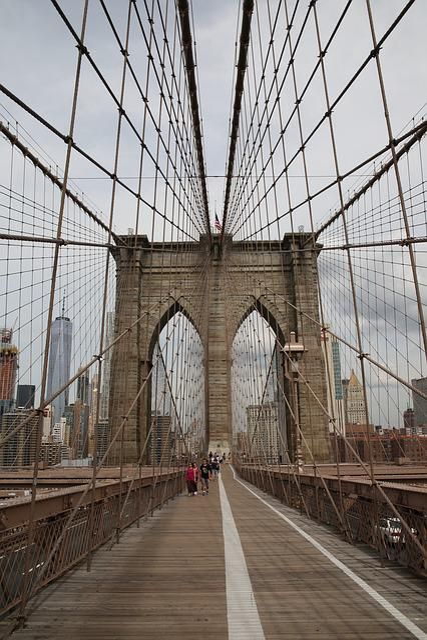 Bridge, Architecture, City