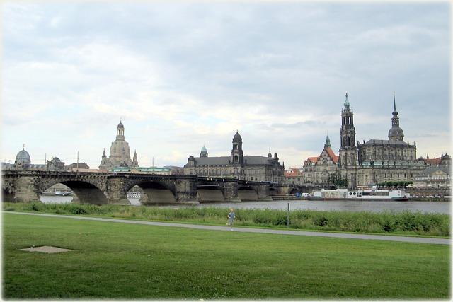 Dresden, Architecture, Old Town, Bridge