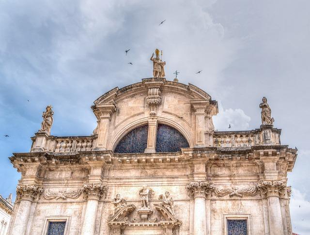 Croatia, Dubrovnik, Architecture, Building, Ancient