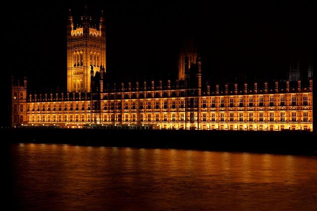 Architecture, Britain, Building, City, Dusk, Evening