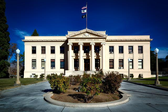 Inyo County, Courthouse, Architecture, Building