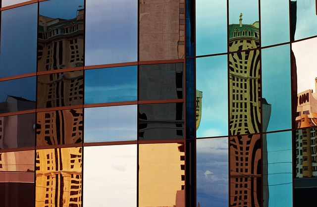 Glass, Facade, Colorful, Architecture, Building
