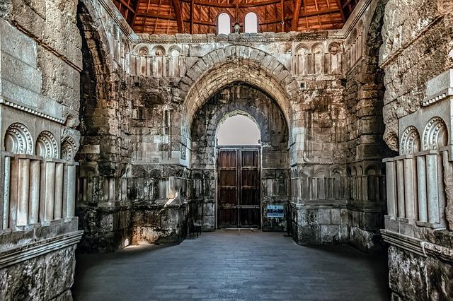 Umayyad Palace, Architecture, Building, Interior, Old