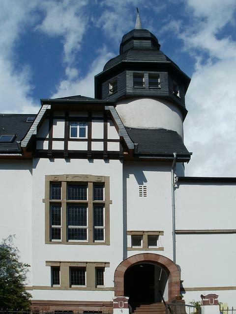 House, Building, Saarbrucken, Architecture