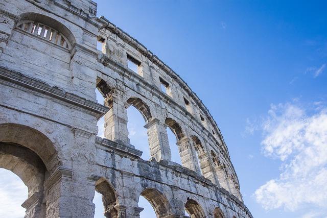 Coliseum, Old, Antique, Stone, Building, Architecture