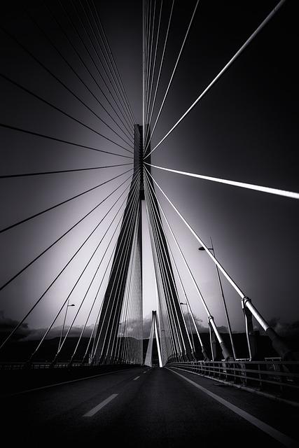 Rio–antirrio Bridge, Cable-stayed Bridge, Architecture
