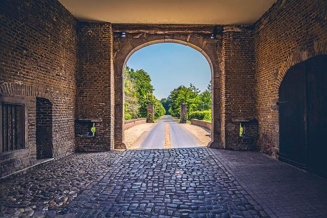 Castle, Entrance, Architecture, Old, Gate, Europe
