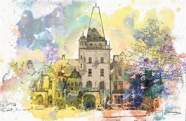 Hotel, Castle Tremsbüttel, Mecklenburg, Architecture