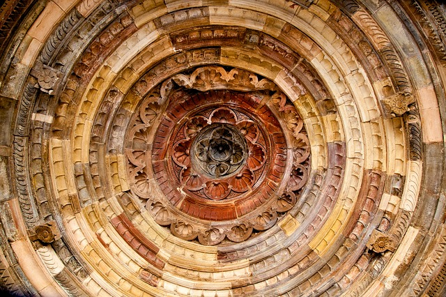 Fresco, Ceiling, Architecture, Dome, Cathedral