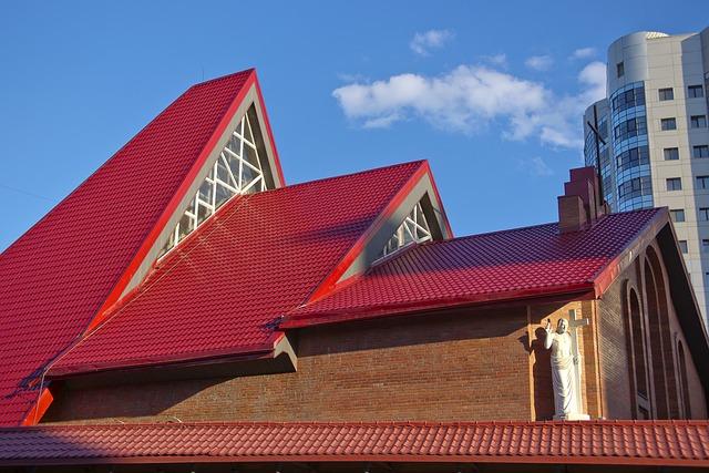 Building, Architecture, Catholic, Showplace, Modern