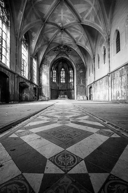 Church, Chapel, Inside, Architecture, Old Building, Old