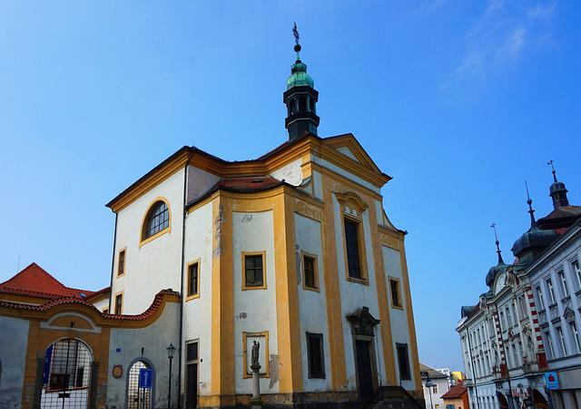 Baroque Church, Czechia, Architecture, Town, Church