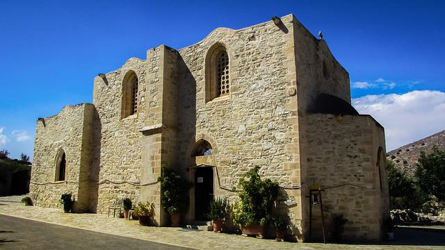 Monastery, Byzantine, Medieval, Church, Architecture