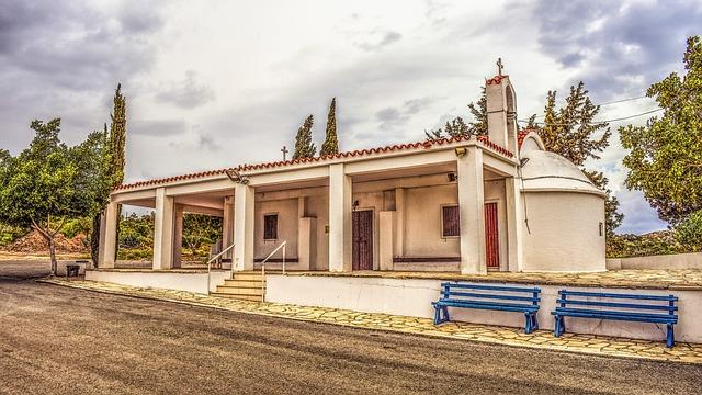 Church, Architecture, Religion, Orthodox, Cyprus
