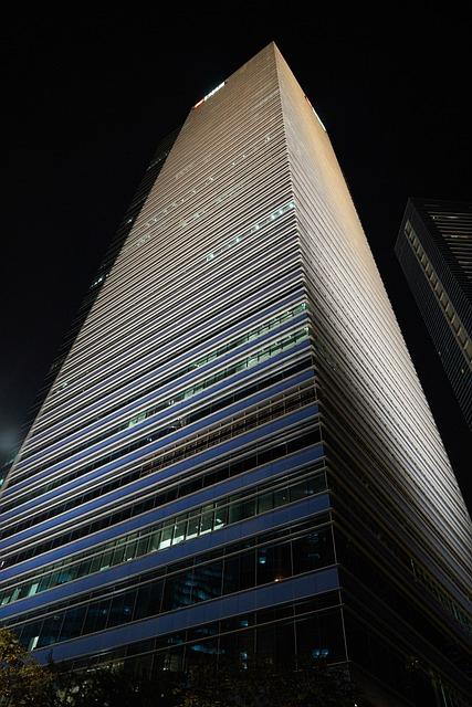 Building, Skyscraper, Architecture, City, Asian
