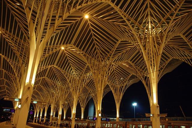 Architecture, City, Railway Station, Lisbon