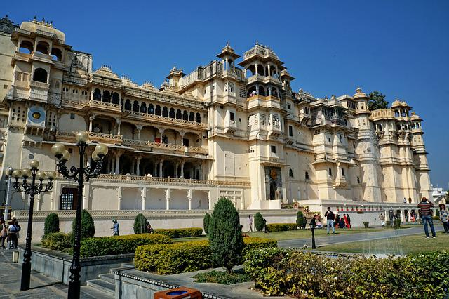 Udaipur, City Palace, Architecture, Travel, Old