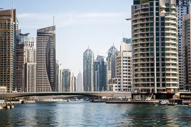 Dubai, City, Architecture, Skyscrapers, Dubai Marina
